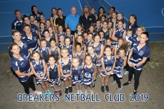 Breakers Netball Club and Sponsors